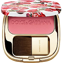 Düfte, Parfümerie und Kosmetik Schimmerndes Rouge - Dolce&Gabbana Blush Of Roses Luminous Cheek Colour