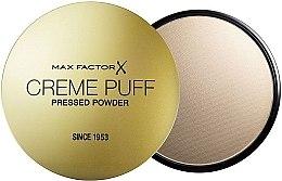 Düfte, Parfümerie und Kosmetik Kompaktpuder(ohne Schwamm) - Max Factor Creme Puff Pressed Powder