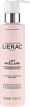 Düfte, Parfümerie und Kosmetik Mizellen-Reinigungsmilch zum Abschminken für Gesicht und Augen - Lierac Double Nettoyant Lait Micellaire