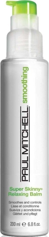 Glättende und pflegende Haarspülung für lockiges Haar - Paul Mitchell Smoothing Super Skinny Relaxing Balm — Bild N1