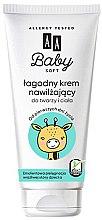 Düfte, Parfümerie und Kosmetik Feuchtigkeitsspendende Babycreme für Gesicht und Körper - AA Cosmetics Baby Soft