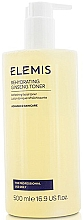 Düfte, Parfümerie und Kosmetik Feuchtigkeitsspendendes, erfrischendes und beruhigendes Gesichtstonikum mit Ginseng - Elemis Rehydrating Ginseng Toner For Professional Use Only