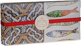Düfte, Parfümerie und Kosmetik Naturseifen-Geschenkset - Essencias de Portugal Gift Set Living Portugal Collection №2 (2x50g)