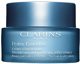 Düfte, Parfümerie und Kosmetik Intensiv feuchtigkeitsspendende Gesichtscreme - Clarins Hydra-Essentiel Normal to Dry Skin Cream