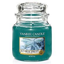 Düfte, Parfümerie und Kosmetik Duftkerze im Glas Icy Blue Spruce - Yankee Candle Icy Blue Spruce Jar