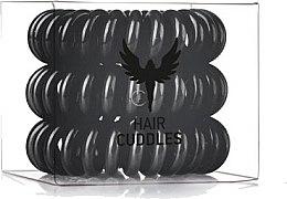 Düfte, Parfümerie und Kosmetik Haargummis 3 St. - HH Simonsen Hair Cuddles Black