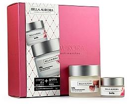 Düfte, Parfümerie und Kosmetik Gesichtspflegeset - Bella Aurora Set (Gesichtscreme 50ml + Augencreme 15ml)