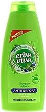 Düfte, Parfümerie und Kosmetik Shampoo gegen Schuppen mit Myrte und Rosmarin - Erba Viva Anti-Dandruff Shampoo