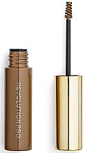Definierendes Augenbrauengel für mehr Volumen - Makeup Revolution Pro Brow Volume And Sculpt Gel — Bild N2