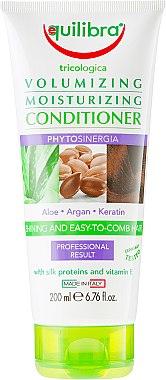 Feuchtigkeitsspendende und voluminisierende Haarspülung mit Seidenproteinen und Vitamin E - Equilibra Tricologica Volumizing Moisturizing Conditioner — Bild N1