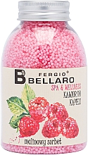 Düfte, Parfümerie und Kosmetik Entspannendes Badekaviar Himbeersorbet - Fergio Bellaro Raspberry Sorbet Bath Caviar