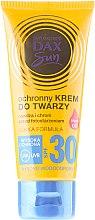 Düfte, Parfümerie und Kosmetik Sonnenschutzcreme für das Gesicht mit Arganöl SPF 30 - DAX Sun Protective Face Cream SPF 30