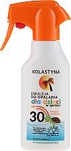 Düfte, Parfümerie und Kosmetik Sonnenschutzspray für Kinder SPF 30 - Kolastyna Suncare for Kids Spray SPF 30
