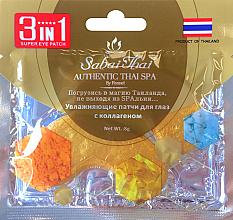 Düfte, Parfümerie und Kosmetik Feuchtigkeitsspendende Augenpads mit Kollagen - Sabai Thai Collagen Eye Patch