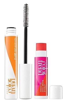 Make-up Set (Wimperntusche/7ml + Lippenbalsam/4g) - Avon Color Trend Vanilla  — Bild N1