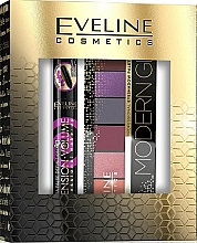 Düfte, Parfümerie und Kosmetik Make-up Set (Mascara 10ml + Lidschatten-Palette 9.6g) - Eveline Cosmetics