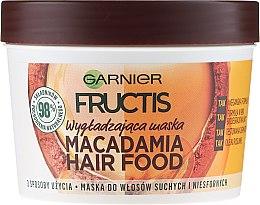 Düfte, Parfümerie und Kosmetik Haarmaske - Garnier Fructis Macadamia Hair Food Mask