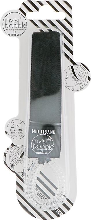 Mehrzweck-Haarband - Invisibobble Multiband True Black — Bild N1