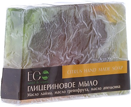 Handgemachte Glycerinseife Zitrus - ECO Laboratorie Citrus Hand Made Soap — Bild N2