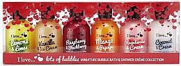 Düfte, Parfümerie und Kosmetik Set - I Love... Lots of Bubbles Bath and Shower Creme Gift Set (s/g/100ml x6)