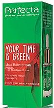 Düfte, Parfümerie und Kosmetik Matt-Booster für das Gesicht mit grünem Tee und Eukalyptus - Perfecta Your Time is Green