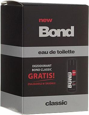 Bond Classic - Duftset (Eau de Toilette 100ml + Deodorant 50ml) — Bild N1