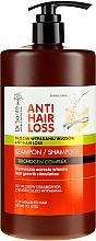 Düfte, Parfümerie und Kosmetik Haarwachstum stimulierendes Shampoo gegen Haarausfall mit Spender - Dr. Sante Anti Hair Loss Shampoo