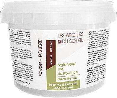 Kosmetischer grüner Ton - Les Argiles du Soleil French Green Illite Clay — Bild N2