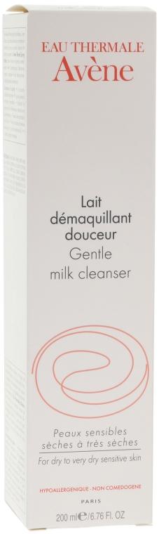 Sanfte beruhigende Gesichtsreinigunsmilch zum Abschminken für trockene bis sehr trockene und empfindliche Haut - Avene Soins Essentiels Gentle Milk Cleanser — Bild N3