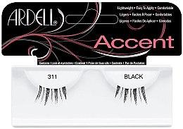 Düfte, Parfümerie und Kosmetik Künstliche Wimpern - Ardell Accent Eyelashes 311 Black