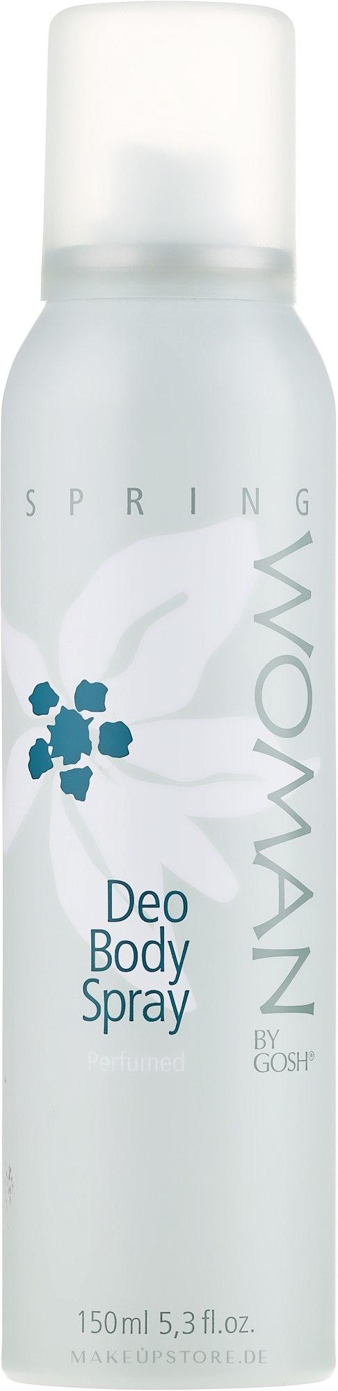 Deospray - Gosh Woman Spring Deo Body Spray — Bild 150 ml