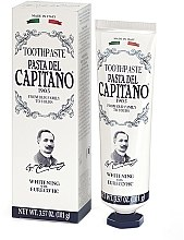 Düfte, Parfümerie und Kosmetik Aufhellende Zahnpasta - Pasta Del Capitano Whitening Toothpaste