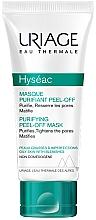 Düfte, Parfümerie und Kosmetik Peel-Off Gesichtsmaske mit Zink - Uriage Hyseac Gentle Peel Off Mask