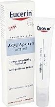 Feuchtigkeitsspendende und revitalisierende Augencreme - Eucerin AquaPorin Active Deep Long-lasting Hydration Revitalising Eye Cream — Bild N1
