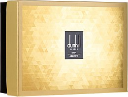 Alfred Dunhill Icon Absolute - Duftset (Eau de Parfum 100ml + Duschgel 90ml + After Shave Balsam 90ml + Kosmetiktasche) — Bild N1