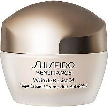 Düfte, Parfümerie und Kosmetik Feuchtigkeitsspendende Anti-Aging Nachtcreme - Shiseido Benefiance WrinkleResist24 Night Cream