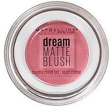 Düfte, Parfümerie und Kosmetik Cremiges Rouge für das Gesicht - Maybelline Dream Matte Blush