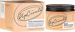 Düfte, Parfümerie und Kosmetik Feuchtigkeitsspendende Gesichtscreme mit Argan-Schalenpulver - UpCircle Face Moisturiser With Argan Powder
