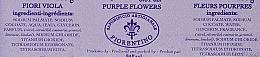 Naturseife Purple Flowers - Saponificio Artigianale Fiorentino Purple Flowers Scented Soap Armonia Collection — Bild N2