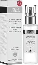 Düfte, Parfümerie und Kosmetik Anti-Pollution Gesichtsnebel - Ren Flash Defence Anti-Pollution Mist