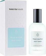Düfte, Parfümerie und Kosmetik Tief feuchtigkeitsspendendes Gesichtstonikum für alle Hauttypen - Thank You Farmer True Water Toner