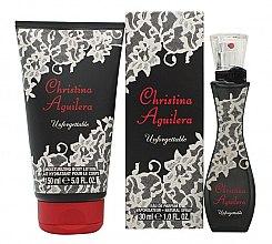 Düfte, Parfümerie und Kosmetik Christina Aguilera Unforgettable - Duftset (Eau de Parfum 30ml + Duschgel 150ml)