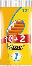 Düfte, Parfümerie und Kosmetik Einwegrasierer Sensitive 12 St. - Bic