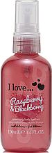 Düfte, Parfümerie und Kosmetik Erfrischendes Körperspray Himbeere & Brombeere - I Love... Raspberry & Blackberry