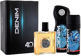 Düfte, Parfümerie und Kosmetik Denim Original - Kosmetikset (After Shave Lotion/100ml + Deodorant/150ml + Duschgel/250ml)
