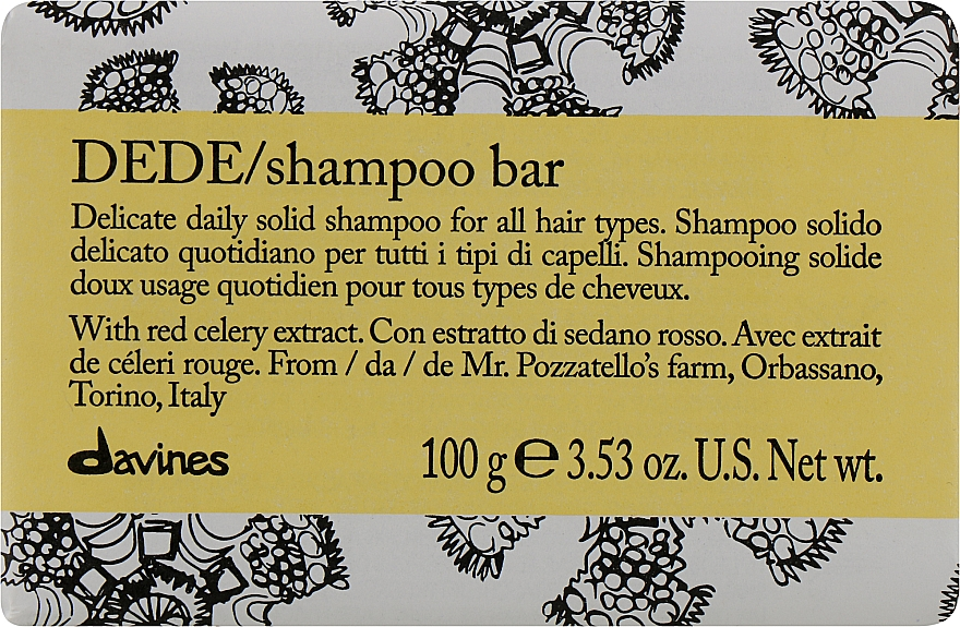 Festes Shampoo für täglichen Gebrauch - Davines Shampoo Bar — Bild N1