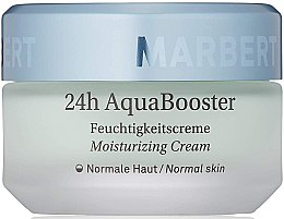 Düfte, Parfümerie und Kosmetik Feuchtigkeitsspendende Gesichtscreme für normale Haut - Marbert 24h AquaBooster Moisturizer Normal Skin