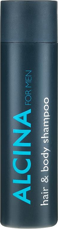 Shampoo für Körper und Haar - Alcina Herrenpflege For Men Hair & Body Shampoo — Bild N1