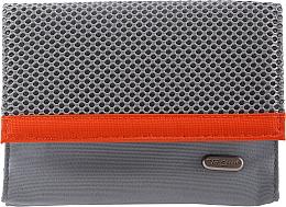 Düfte, Parfümerie und Kosmetik Kosmetiktasche 94644 grau-orange - Top Choice Net