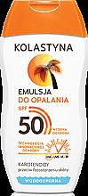 Düfte, Parfümerie und Kosmetik Sonnenschutzlotion SPF 50 - Kolastyna